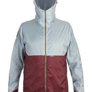 M OstroUltraLight Jacket FogGreyWine Front