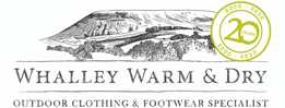 Whalley Warm & Dry Logo
