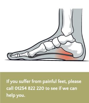 walking painful feet