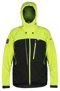 Men's Enduro Windproof Jacket HiVisYellow Black Front