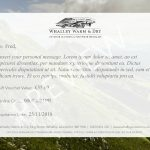 Whalley Warm and Dry Online Gift Voucher Preview Page 1
