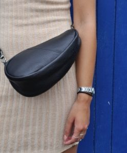 leather large baglett model