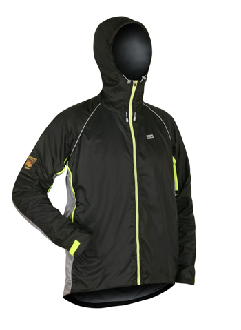 Mens NewQuito Jacket BlackSteel Angled