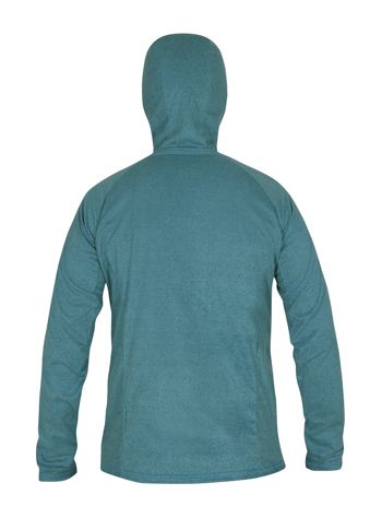 Mens Ostro Fleece NeonBlue Back