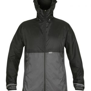Mens Ostro Jacket BlackGrey Front