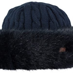 Fur Cable Bandhat Navy