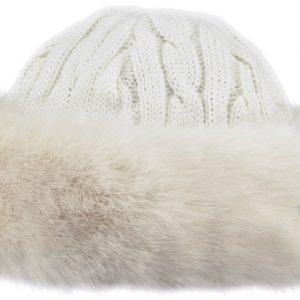 Fur Cable Bandhat White