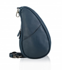 Large Baglett Leather Lake Blue
