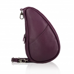 Large Baglett Leather Purple