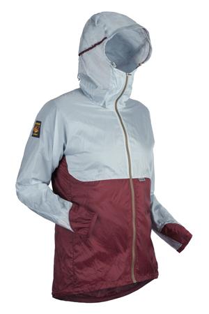 M OstroUltraLight Jacket FogGreyWine Angled