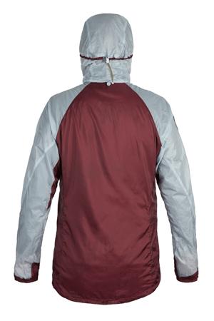 M OstroUltraLight Jacket FogGreyWine Back