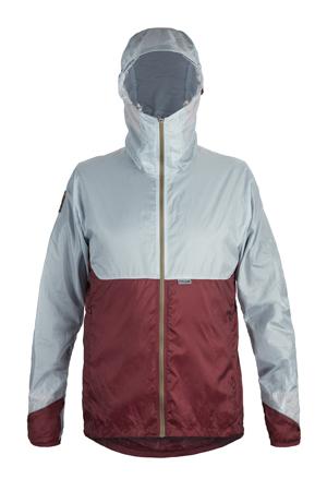 M OstroUltraLight Jacket FogGreyWine Front