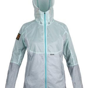 W AlizeUltraLight Jacket PaleMintFogGrey Front