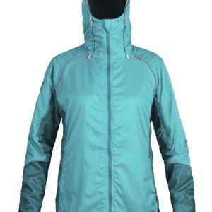 W Mirada Jacket AdriaticCyan Front