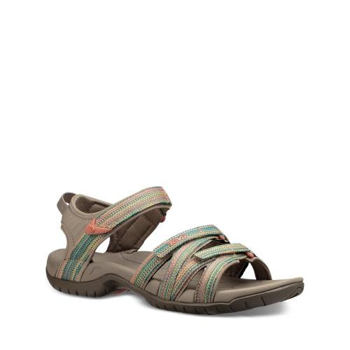 8de418ae04dd TEVA Womens Tirra Sandal - Taupe Multi